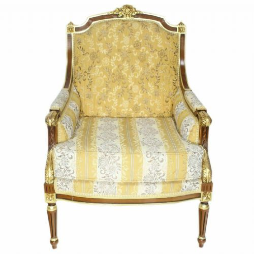 ARMCHAIR - PALACE BAROQUE STYLE ARMCHAIR PETERSBURG #MB260G